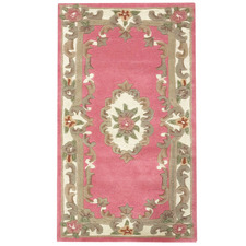 Pink Avolon Hand Woven Wool & Cotton Rug