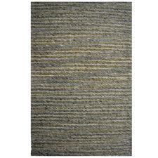 Beige Samra Festival Hand-Woven Wool-Blend Rug