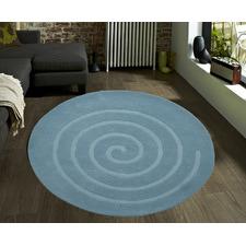 Swirl Aqua Rug