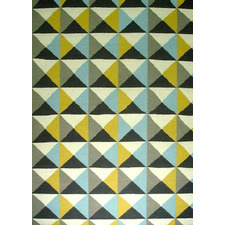 Sweden Yellow/Blue Rug