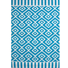 Chatai Aquaite Reversible Indoor Outdoor Rug