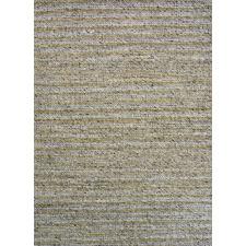 Beige Sua Flat Weave Wool-Blend Rug