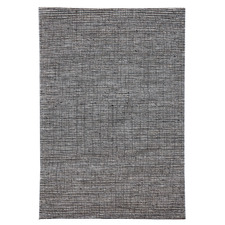 Navy Festival Hand Made Wool-Blend Rug
