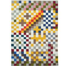 Pixels Hand Woven Wool Rug