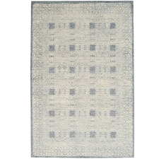 Grey Newcastle Hand-Tufted Wool-Blend Rug