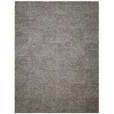 Ash Grey Ottawa Braided Wool-Blend Rug