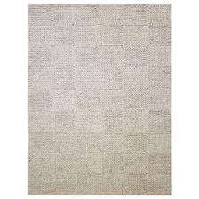 Silver Ottawa Braided Wool-Blend Rug