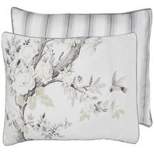 White Striped Belvedere Cotton European Pillowcase
