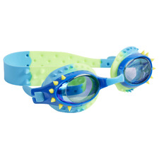 Kids' Blue & Yellow Spikes Nelly Swim Goggles