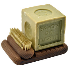 3 Piece Heritage Soap & Nail Brush Gift Set