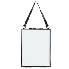 Black Triva Lockable Metal Photo Frame