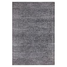 Grey Marguerite Oriental Rug