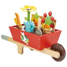 Kids' Garden Wheelbarrow Set