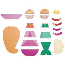 Kids' Princess Magnetic Blocks Set