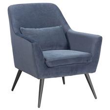 Zenais Velvet Armchair