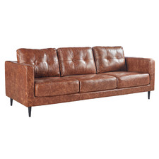 Maegan 3 Seater Leather Sofa