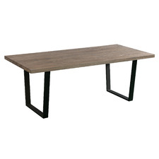 Norton Wood & Steel Dining Table