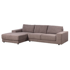 Xavier 3 Seater Fabric Sofa with Chaise