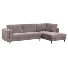 Porsteinn 3 Seater Fabric Sofa with Chaise