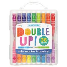 Kids' 36 Piece Double Up Travel Marker Set