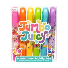 Kids' 6 Piece Jumbo Juicy Scented Marker Set