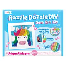 Kids' Unicorn Razzle Dazzle DIY Gem Art Set