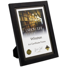 Winston A4 Wooden Certificate Frame