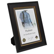 Dark Chocolate Hudson A4 Wooden Certificate Frame