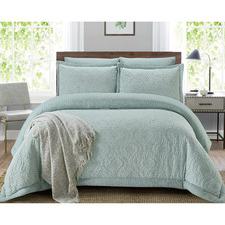 Mint Grace Reversible Comforter Set