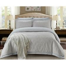 Silver Grace Reversible Comforter Set