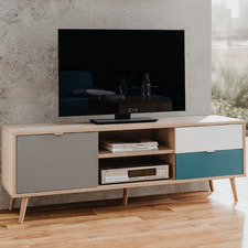 Tri-Coloured Collette TV Unit