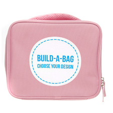 Kids' Pink Build-A-Bag Personalised Lunch Bag