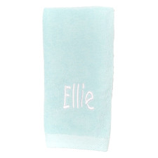 Mint Personalised Cotton Hand Towel