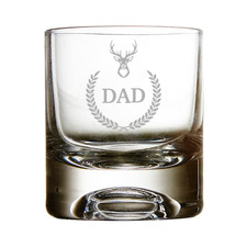 Stag Personalised 300ml Whiskey Glass