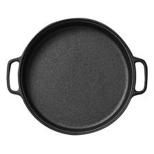30cm Round Cast Iron Sizzle Platter
