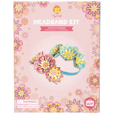 Kids' Paper Flowers Headband Making Set