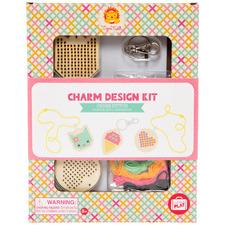 Kids' Cross Stitch Charm Design Set