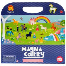 Kids' Unicorn Kingdom Magna Carry Magnetic Play Box Set