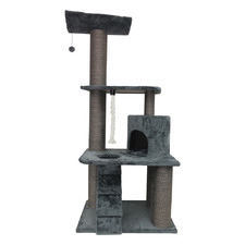 Brown & Grey Britton Cat Scratching Post