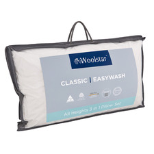 Woolstar Easy Wash 3 Layer Wool Pillow