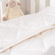 Merino Mini Australian Merino Wool All Seasons Cot Quilt Set