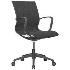 Black Amaryllis Task Chair