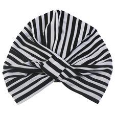 Monochrome Stripe Amelie Shower Cap