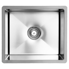 51cm Vande Steel Single Kitchen Sink