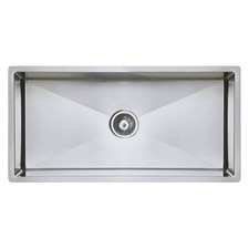 90cm Vande Steel Single Kitchen Sink