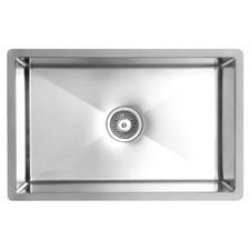 70cm Vande Steel Single Kitchen Sink