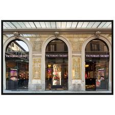 Shopfront A Framed Glass Wall Art