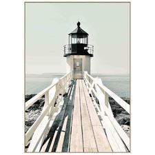 Lighthouse Framed Canvas Wall Art