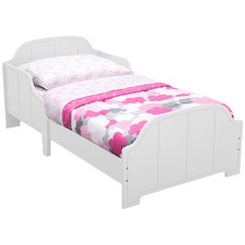 White MySize Bell Toddler Bed