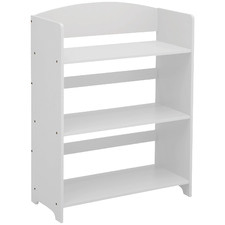 Kids White MySize 3 Tier Bookshelf